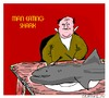 Cartoon: Mealtime (small) by sausage factory tagged man,eating,shark