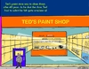 Cartoon: Paint Shop (small) by sausage factory tagged paint,shop,business