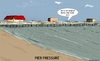 Cartoon: Pier Pressure (small) by sausage factory tagged peers,piers,gangs,friends