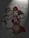 Cartoon: MYSTIC MADNESS (small) by Toonstalk tagged fortune,teller,mystic,gypsy,scam,crystal,ball,sexy,sensual,spellbinder