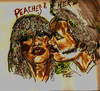Cartoon: Peaches And Herb (small) by Toonstalk tagged music,duo,singers,entertainers,reunited,recording,artists