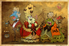 Cartoon: Aristocrats (small) by Garvals tagged aristocrats,monsters,demon,slug