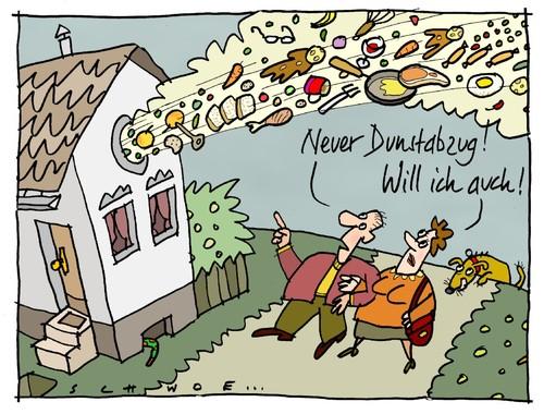 Dunstabzug By Schwoe Media Culture Cartoon Toonpool