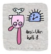 Cartoon: Hasi 24 (small) by schwoe tagged hasi,hase,uhr,zeit