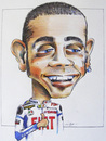 Cartoon: Valentino Rossi Caricature (small) by Nige W tagged valentino,rossi,cartoon,caricature