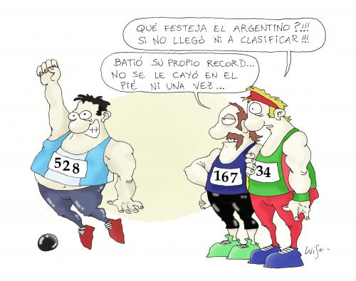 Cartoon: Olympics 2 (medium) by Luiso tagged olympics