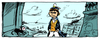 Cartoon: Corto maltese and Krazy Kat (small) by gud tagged corto,maltese,and,krazy,kat,comics