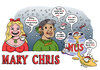 Cartoon: Merry Christmas (small) by piro tagged christmas,holidays,owls