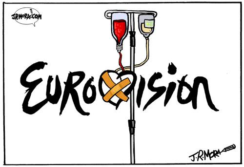 Cartoon: Eurovision (medium) by jrmora tagged cancion,eurovision,festival