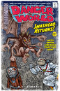 Cartoon: DANGERWORLD cover (small) by monsterzero tagged scifi,superhero,comic