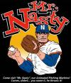 Cartoon: Mr. Nasty the Pitching Machine (small) by monsterzero tagged pitcher,baseball,
