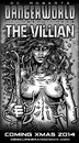 Cartoon: The Villian (small) by monsterzero tagged villian comic scifi