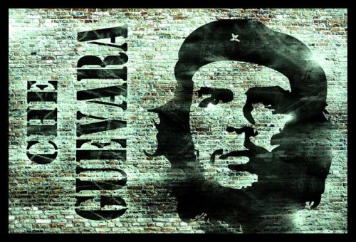 Cartoon: Che Guevara Remembered (medium) by BenHeine tagged cheguevara,elche,guerrillawarfare,resistance,socialism,communism,wall,mur,cuba,latinamerica,oppression,soldier,guerrilleros,fight,struggle,peace,war,usa,imperialism,occupation,ameriquedusud,symbol,icon,benheine,