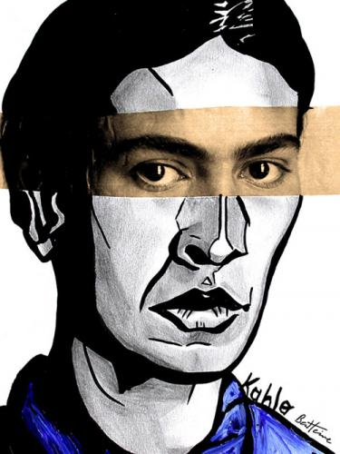 Cartoon: Frida Kahlo (medium) by BenHeine tagged frida,kahlo,mexico,city,diego,rivera,primitive,surrealism,spain,polio,women,fridamania,shocking,feminism,sexism,expressionism,painter,coyoacan,bus,accident,sick,malade,mexique,peinture,womans,rights,turbulent,life,ben,heine,