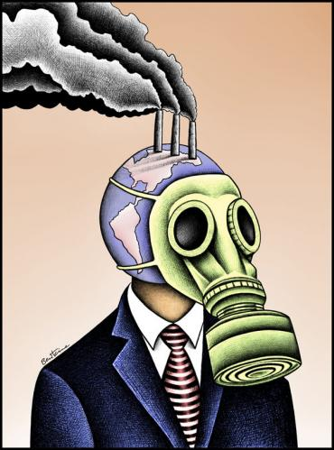 Cartoon: Global Warming (medium) by BenHeine tagged globalwarming,health,earth,individual,humanbeing,timesonlinecouk,gasmask,cancer,disease,ill,sick,gaz,co2,carbonemission,future,uk,globalsouth,respiratoryillness,maladie,planete,terre,usine,ozone,weather,benheine,