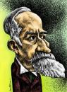 Cartoon: Titu Maiorescu (small) by BenHeine tagged titumaiorescu,maiorescu,romania,caricature,famous,portrait,beard,politician,foreignminister,benheine,caricaturaorg,