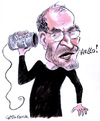 Cartoon: Steve Jobs (small) by Christo Komarnitski tagged steve,jobs,technology,iphone