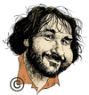 Cartoon: Peter Jackson (small) by Eoin tagged caricature,celebrities,jackson