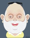 Cartoon: Andy Vajna (small) by bacsa tagged andy,vajna
