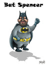 Cartoon: Bat Spencer (small) by bacsa tagged bud,spencer