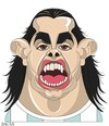 Cartoon: Carlos Tevez (small) by bacsa tagged tevez