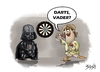 Cartoon: Darts (small) by bacsa tagged star,wars