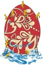 Cartoon: EASTER (small) by bacsa tagged easter