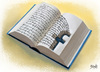 Cartoon: Facebook (small) by bacsa tagged book