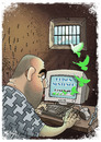 Cartoon: Freedom (small) by bacsa tagged freedom