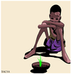 Cartoon: LAST CHANCE (small) by bacsa tagged last,chance