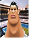 Cartoon: Ronaldo (small) by bacsa tagged ronaldo