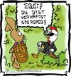 Cartoon: Eierdieb (small) by Clemens tagged frohe,ostern,osterhase,ei