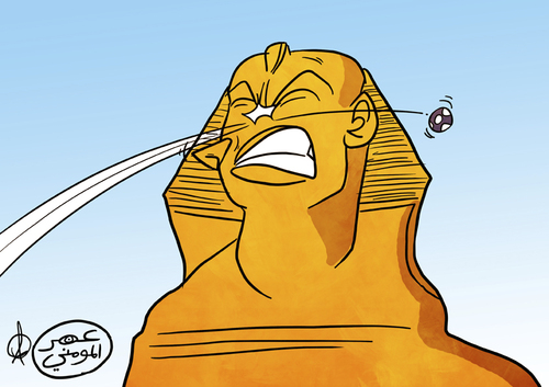 Sphinx Cartoons and Comics - funny pictures from CartoonStock
