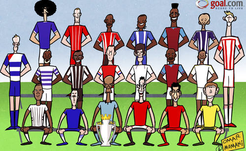 Premier League Cartoons Cartoon The Premier League is