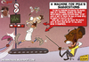 Cartoon: a machine for Pele (small) by omomani tagged maradona,pele,brazil,argentina