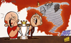 Cartoon: Calm before Sunday Premier Leagu (small) by omomani tagged ferguson,hart,manchester,city,united,mancini,premier,league,rooney,vincent,kompany