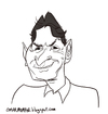 Cartoon: Charlie Sheen by John K (small) by omomani tagged john,kricfalusi,charlie,sheen