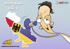 Cartoon: Deutschland in Euro 2012 (small) by omomani tagged ozil,germany,real,madrid,ukraine,poland,euro,12