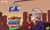 Cartoon: Mourinho parks his Chelsea bus (small) by omomani tagged mourinho,chelsea