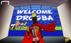 Cartoon: Return of the king Drogba (small) by omomani tagged champions,league,chelsea,drogba,galatasaray,john,terry,lampard,mourinho