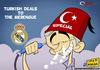 Cartoon: Special Turkish (small) by omomani tagged mourinho,real,madrid,hookah,spain,portugal,turkey,soccer,football,smoke