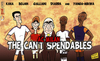 Cartoon: The Cant Spendables (small) by omomani tagged ac,milan,bojan,galliani,kaka,lassana,diarra,montpellier,real,madrid,roma,yanga,mbiwa