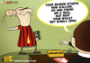 Cartoon: X file (small) by omomani tagged silvio,berlusconi,galliani,ac,milan,italy,serie,playboy,files,soccer,football,calcio