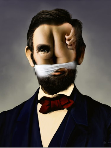 Abraham Lincoln Cartoon Drawing 74570 Trendnet