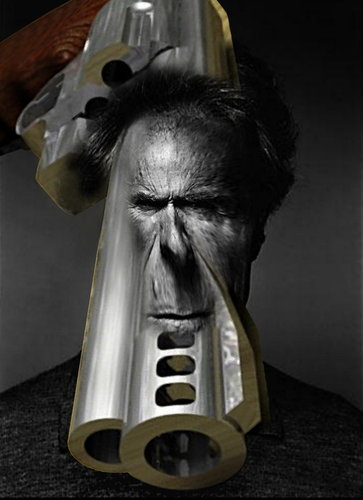 Cartoon clint eastwood medium by willemrasingart tagged movie