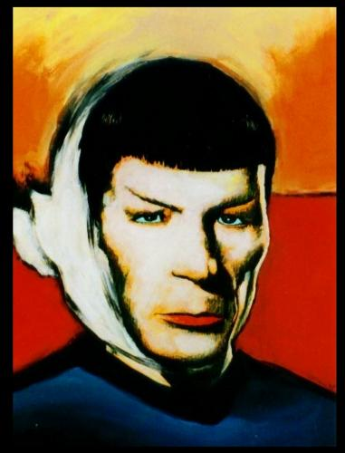 Cartoon: Mister Spock by van Gogh (medium) by willemrasingart tagged art,