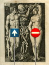 Cartoon: Adam and Eve! (small) by willemrasingart tagged great,personalities