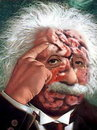 Cartoon: Albert Einstein! (small) by willemrasingart tagged great,personalities