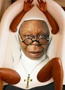 Cartoon: Whoopi Sister Act Goldberg! (small) by willemrasingart tagged great,personalities