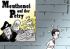 Cartoon: AfD Meuthenei (small) by Pfohlmann tagged karikatur,cartoon,2016,color,farbe,deutschland,afd,baden,württemberg,landtag,petry,meuthen,gedeon,antisemitismus,fraktion,spaltung,machtkampf,vorstand,meuterei,bounty,meuthenei,landtagsfraktion,abspaltung